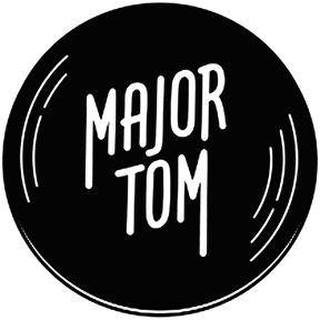 logo major tom record store